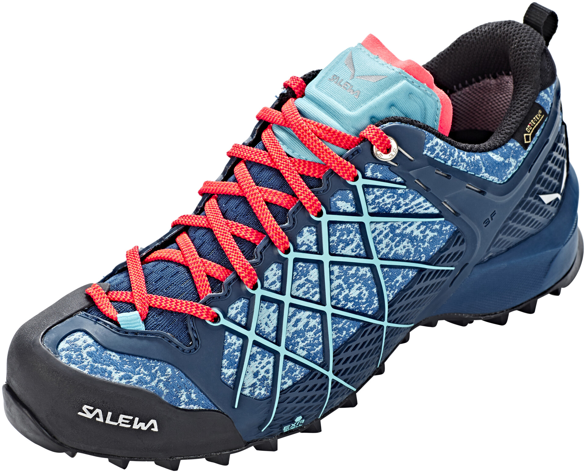 Salewa Wildfire Edge GTX Mid Cut Schuhe Damen Poseidon